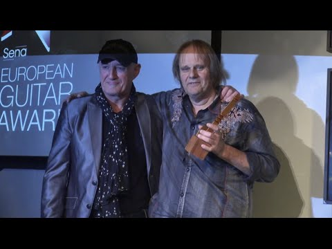 Sena European Guitar Award 2015 And Concert With Walter Trout Part 2