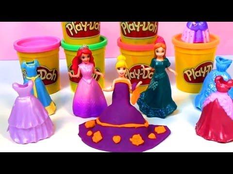 Play Doh Disney Princess dress playdo playset