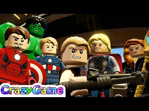 #LEGO MARVEL's Avengers Complete Walkthrough #8 No Strings On Me (4K)