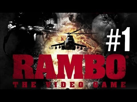 Rambo The Video Game Gameplay Walkthrough Part 1 - WORST GAME EVER?