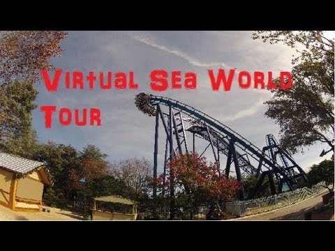 VIRTUAL SEAWORLD TOUR IN 4 MIN., SAN ANTONIO, TEXAS DECEMBER 24TH 2012 NEW HD