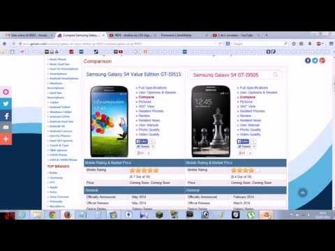 Samsung Galaxy S4 Value Edition i9515 e Galaxy S4 i9505 - PT-BR - Brasil
