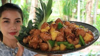 Yummy cooking pork with pineapple recipe - Cooking skill