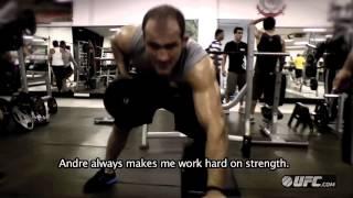 Ufc 155:  Junior Dos Santos -- Strength & Conditioning Training