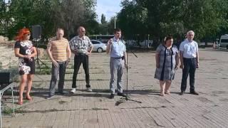 Митинг против роста тарифов ЖКХ проходит на юге Волгограда