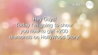 How To Get +200 diamonds On Hollywood Story *PATCHED..I think*