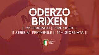 Serie A1F [15^]: Oderzo - Brixen 24-17