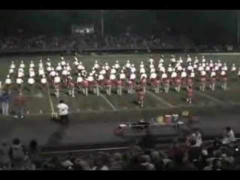 Canton South Alumni Band with the High School Band Video