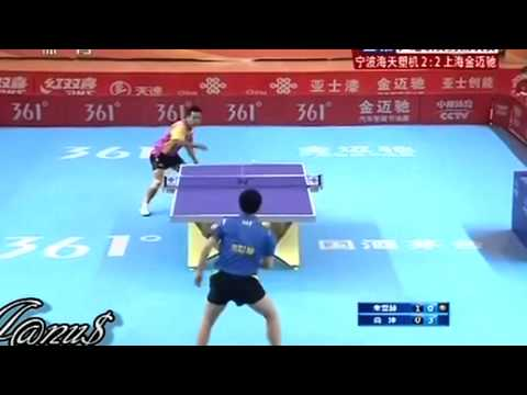 2012/13 China Super League: JOO Se Hyuk - SHANG Kun [Full Match (incomplete!)/Short Form]