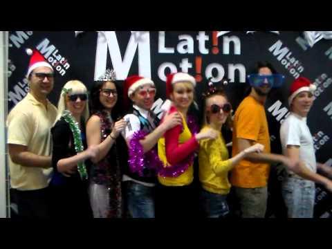 """С Новым Годом, друзья! Ваши """"Latin Motion"""""""
