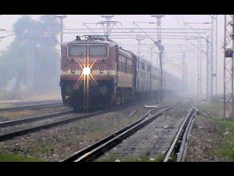 Unique Single Window-grill Brc Wap-4e Kochuveli Amritsar Weekly Dodging The Fog!! video