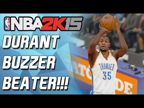 Nba 2k15 Myteam - Nooo! Kevin Durant Buzzer Beater?!!!! - Overtime Thriller! video