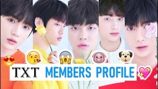 TXT Members Profile (Birth Name, Position, Facts...)