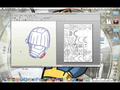 How to use Pepakura on a Mac