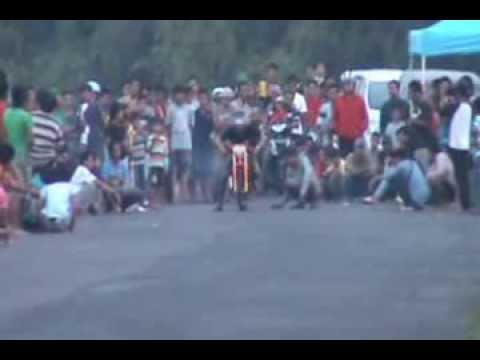 Team Drag Bike Kenzie Bojonegoro Setting Ninja Di By Pass Mojoagung Jombang