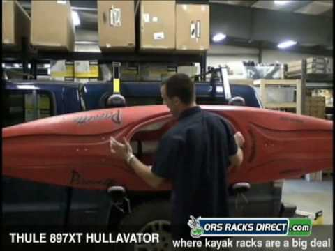 Thule 897XT Hullavator Kayak Rack Review Video & Demo