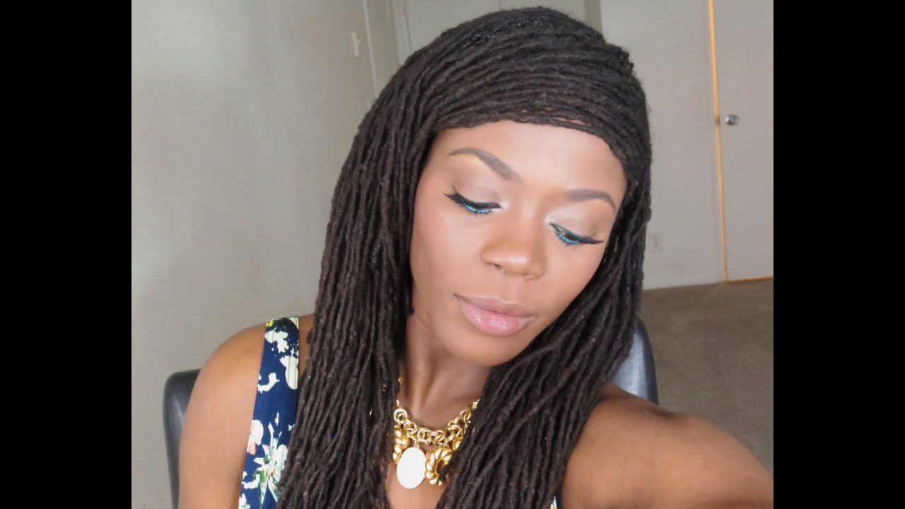 Loc Hairstyle Tutorial Suitable For Thinning And Unkept