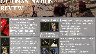 Ottoman Nation Review! In AoE III