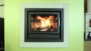 STOVAX Riva 66 (8kW) wood burning & multifuel hole in wall stove
