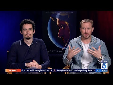 """Ryan Gosling & Damien Chazelle On Working Together From """"La La Land"""" To """"First Man"""""""