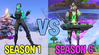 The Evolution of Fortnite Dances! (Season 1 - Season 6) Taste of Nostalgia...