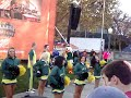 Oregon Ducks cheerleaders at ESPN College Gameday 10-30-2010