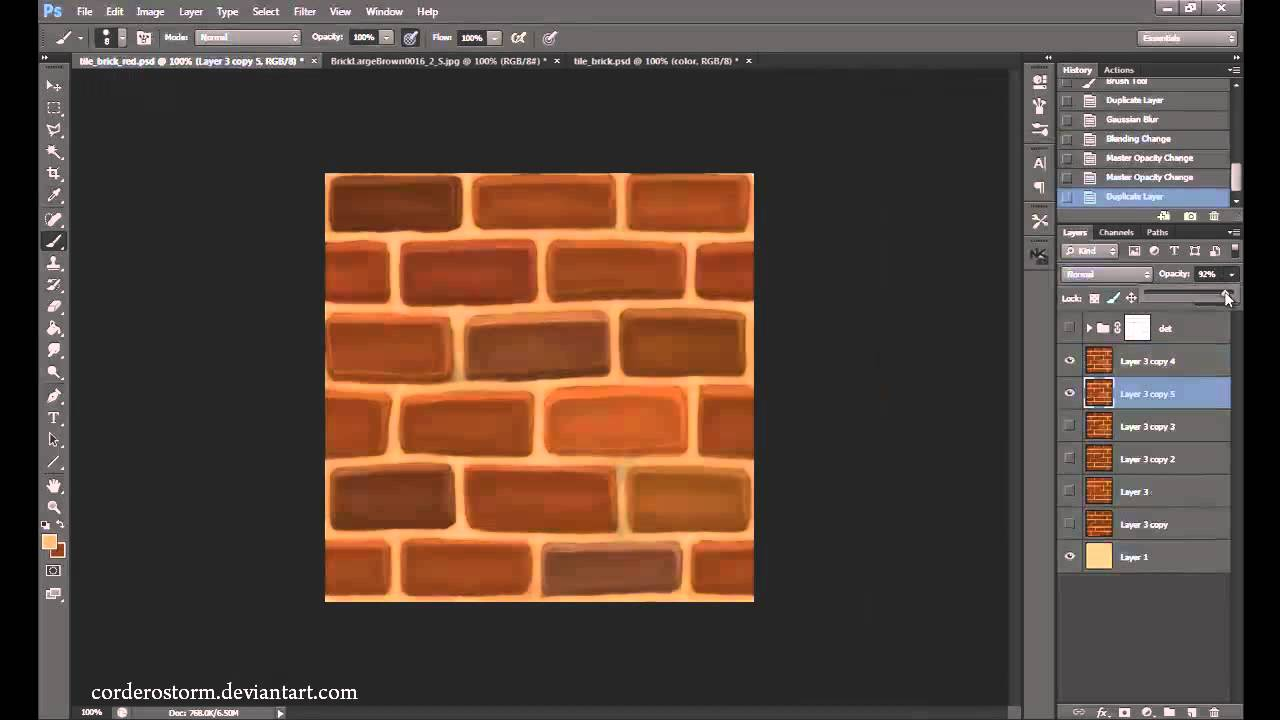 Photoshop Wall Paint Color