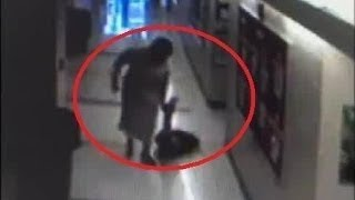 CCTV Shocking Footage Shows School Principal DRAGGING Children Connecticut Carmen Perez Dickson