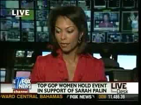 Republican women decry unfair attacks against Republican vice president candidate Sarah Palin.