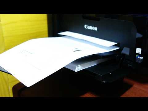 Canon PIXMA E510 Printing test -1