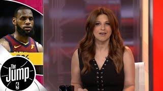 Rachel Nichols: LeBron James has made some memorable 0-2 comebacks   The Jump   ESPN