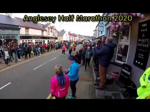 Anglesey Half Marathon 2020 in Menai Bridge including Children's run and 10K, 1st March 2020.