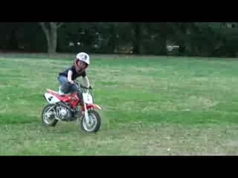 Bikes For Toddlers 3-4 Years Year Old Ben on Dirt Bike