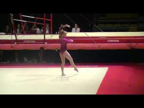 Tatiana Nabieva on FX at Massilia 2011!