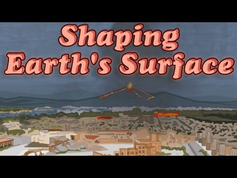 Shaping the Earth's Surface - Impact of Earthquake, Volcano & Flood; Education for Children