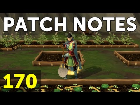 RuneScape Patch Notes #170 - 15th May 2017