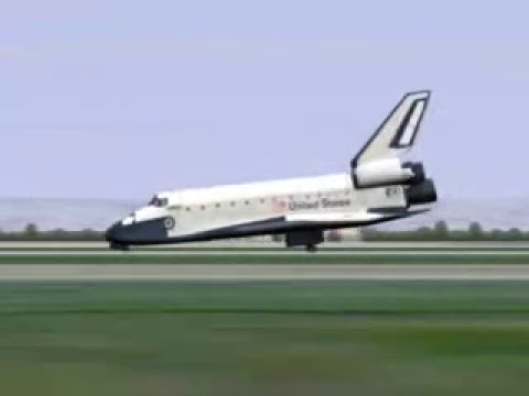 Emergency shuttle landing