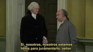 Juramentación de George Washington.