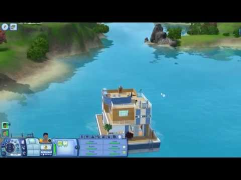 The Sims 3 | Island Paradise Review, Item Showcase and House Boat Tour