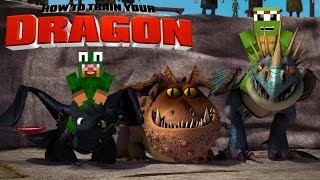 Minecraft - HOW TO TRAIN YOUR DRAGON 2 - [4]