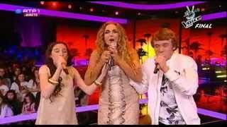 "Daniela Mercury com Bruna Guerreiro e Diogo Garcia - ""À primeira vista"" - Final The Voice Kids"