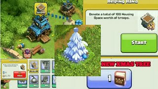Clash of Clans New Christmas Tree 2017 Clan Games, Magic Items, New Winter Update 2017 Coc
