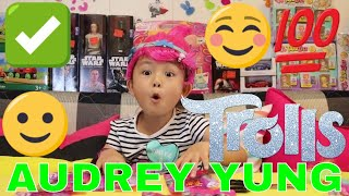 Dreamworks Trolls Blind Bags Series 2 opening toys surprises for kids play by Audrey Yung (01619)