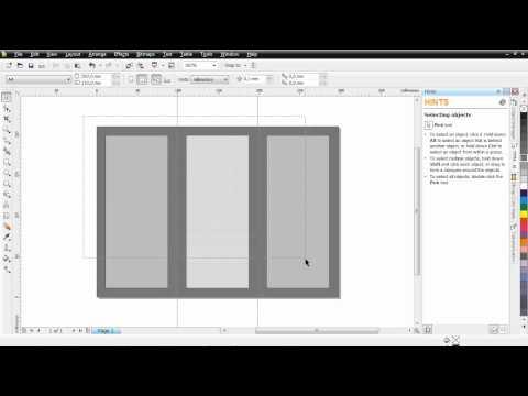 Cara Membuat Brosur Lipat 3 CorelDRAW X4.mp4