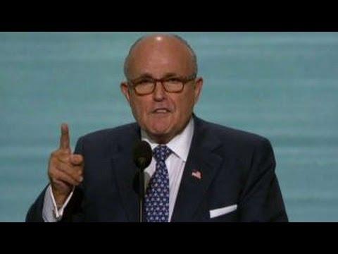 Giuliani: Vote for Donald Trump for a safer America