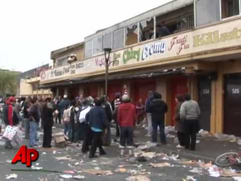 Chile earthquake video: Security cameras capture the images ...