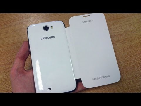Official Samsung Galaxy Note 2 Flip Cover Review