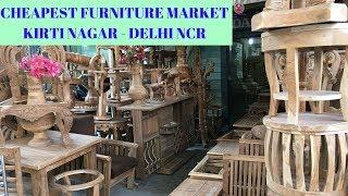 BIGGEST FURNITURE MARKET | SOFA,BED,TABLE,CHAIR,ETC | WHOLESALE | KIRTI NAGAR MARKET | NEW DELHI |🚪