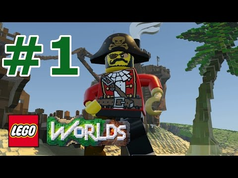 LEGO Worlds: Story Mode Walkthrough: Part 1 - Pirate Playground