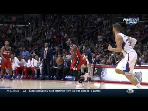 John Wall 360 spin layup: Washington Wizards at Los Angeles Clippers